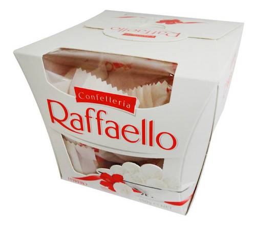 Ferrero Raffaello Box - Individually wrapped, by Ferrero,  and more Confectionery at The Professors Online Lolly Shop. (Image Number :16415)