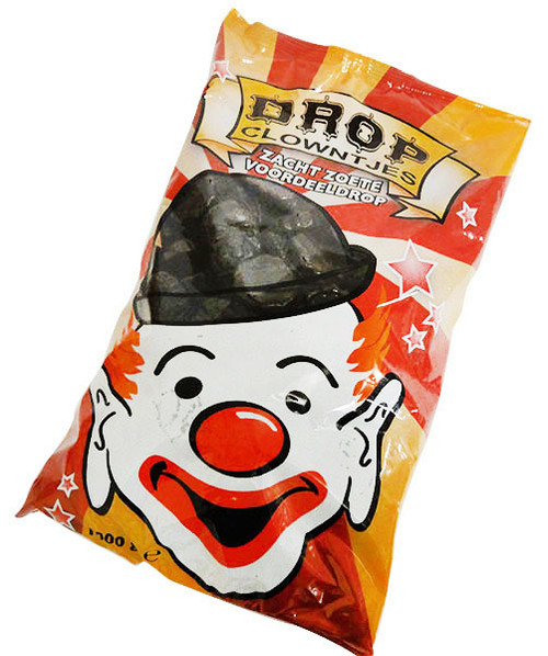 CCI - Drop Clowntjes (licorice clown faces)  (1kg bag)