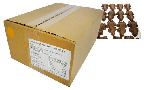 Premium Milk Chococolate Frogs (105 pieces - approx 2.5kg bulk box)