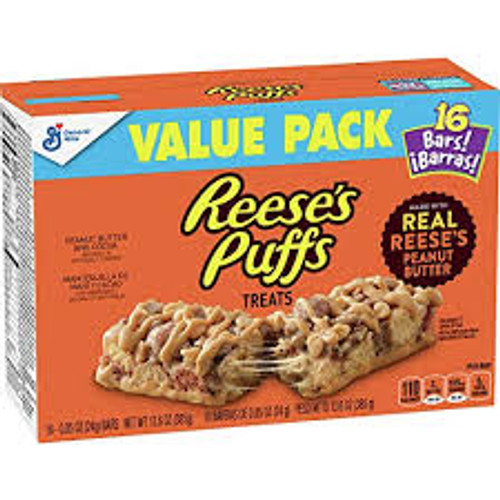 Reeses Puffs Treats and more Snack Foods at The Professors Online Lolly Shop. (Image Number :15445)