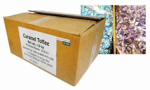 Bulk Caramel Toffees (10kg Box)