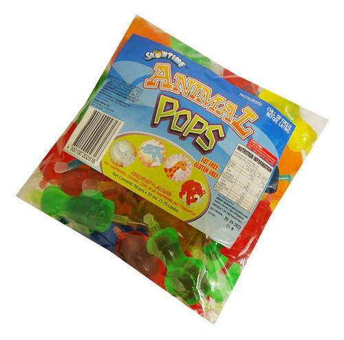 Snowtime Animal Pops (35ml x 50pc bag)