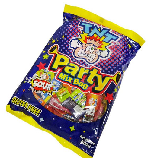 TNT Party Mix Bag, by TNT,  and more Confectionery at The Professors Online Lolly Shop. (Image Number :16248)