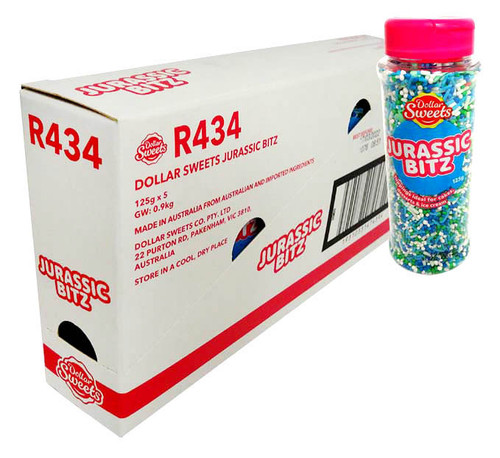 Dollar Sweets Jurassic Bitz (5 x 125g containers)