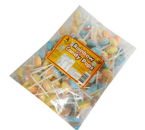 Lolliland Candy Rainbow Pops (1kg Bag)