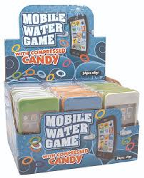 Mobile Water Game With Compressed Candy at The Professors Online Lolly Shop. (Image Number :15634)