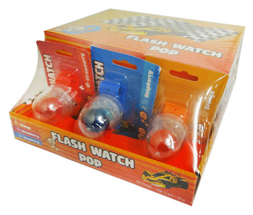 Flash Watch Pop and more Confectionery at The Professors Online Lolly Shop. (Image Number :16423)