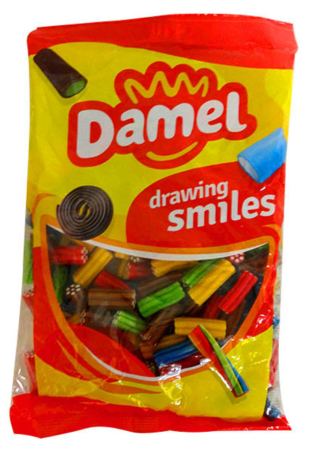 Damel Fruit Licorice Revolvers and more Confectionery at The Professors Online Lolly Shop. (Image Number :13812)