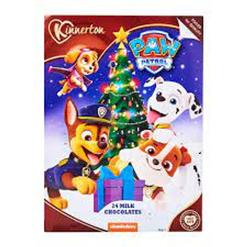 Kinnerton Paw Patrol Advent calendar, by Kinnerton,  and more Confectionery at The Professors Online Lolly Shop. (Image Number :16467)
