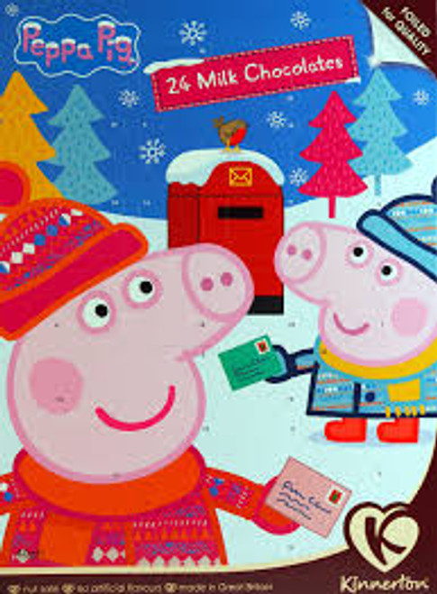 Kinnerton Peppa Pig Advent calendar, by Kinnerton,  and more Confectionery at The Professors Online Lolly Shop. (Image Number :16469)