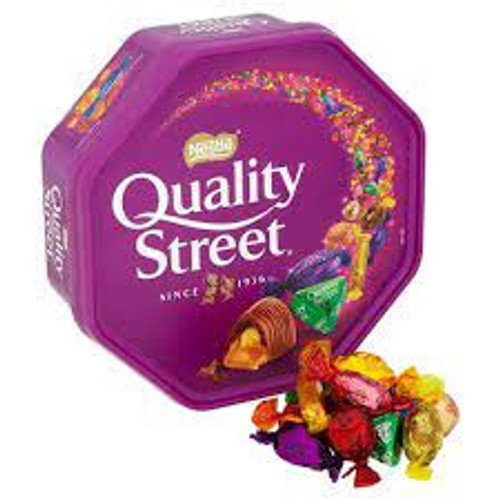 Nestle Quality Streets -UK, by Nestle,  and more Confectionery at The Professors Online Lolly Shop. (Image Number :16470)