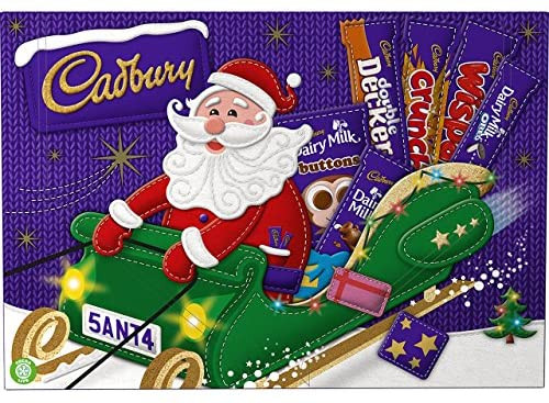 Cadbury Medium Selection Box, by Cadbury,  and more Confectionery at The Professors Online Lolly Shop. (Image Number :16479)
