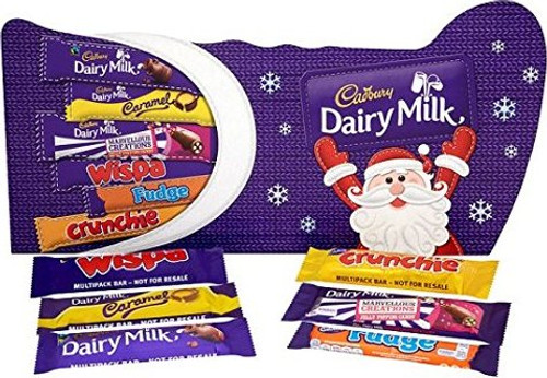 Cadbury Stocking Selection Box, by Cadbury,  and more Confectionery at The Professors Online Lolly Shop. (Image Number :16480)