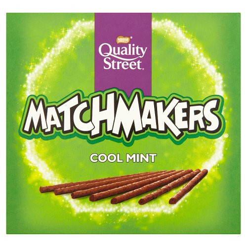 Nestle Quality Street Matchmakers Cool Mint, by Nestle,  and more Confectionery at The Professors Online Lolly Shop. (Image Number :16485)