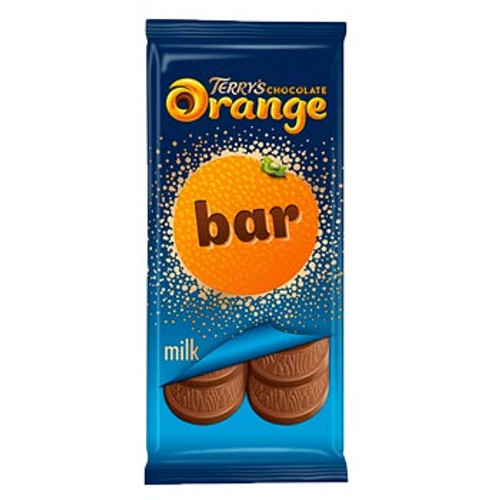 Terrys Chocolate Orange Bar and more Confectionery at The Professors Online Lolly Shop. (Image Number :16487)