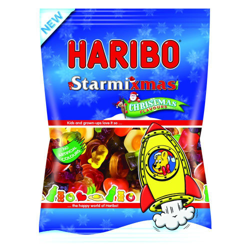 Haribo Starmixmas, by Haribo,  and more Confectionery at The Professors Online Lolly Shop. (Image Number :16488)
