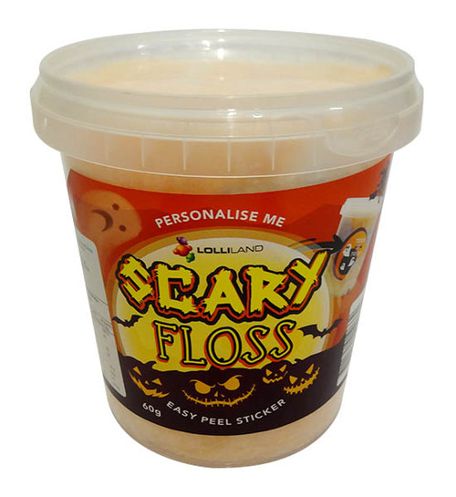 Lolliland Scary Floss (60g Tub)