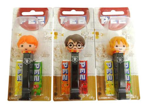 Pez Candy Dispensers - Harry Potter (6 x 17g)