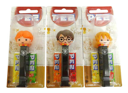 Pez Candy Dispensers - Harry Potter, by Pez,  and more Confectionery at The Professors Online Lolly Shop. (Image Number :16647)