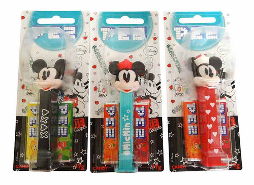 Pez Candy Dispensers - Disney Ultimate Couple, by Pez,  and more Confectionery at The Professors Online Lolly Shop. (Image Number :16642)
