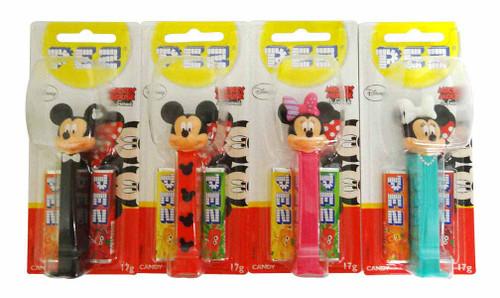Pez Candy Dispensers - Micky Minnie Stylish (6 x 17g)