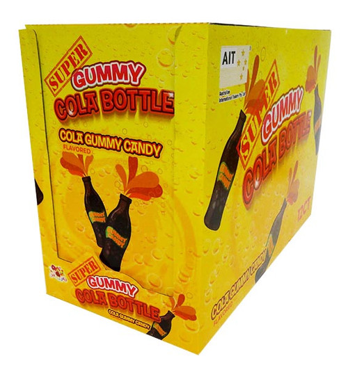 Super Gummy Cola Bottles, by AIT Confectionery,  and more Confectionery at The Professors Online Lolly Shop. (Image Number :16875)