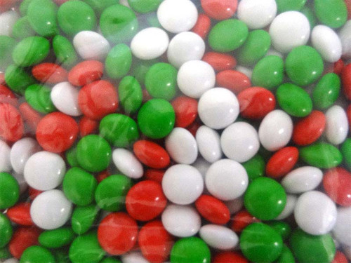 Sweet Treats Christmas Choc Buttons (500g Bag)