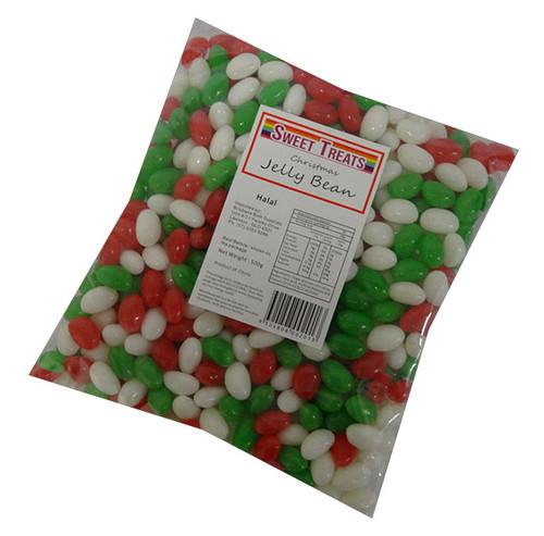 Sweet Treats Christmas Jelly Beans (500g Bag)