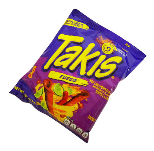 Takis Fuego and more Snack Foods at The Professors Online Lolly Shop. (Image Number :16664)