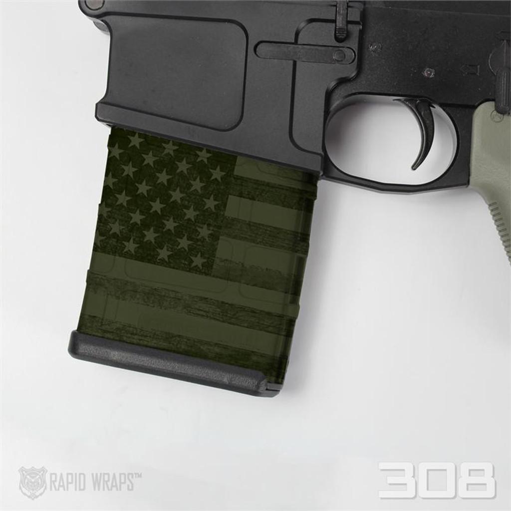 Patriot OD Green Flag