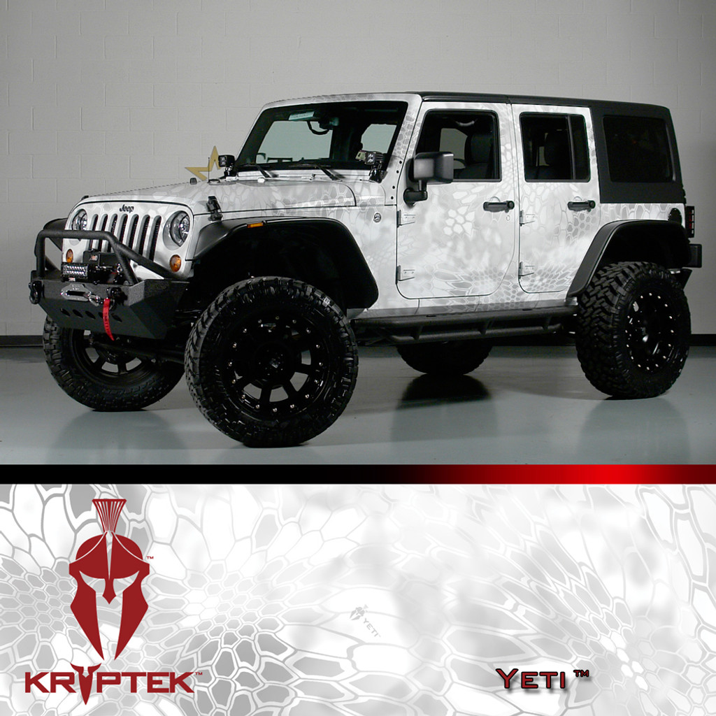 KRYPTEK® Camo Vehicle Wrap Kits
