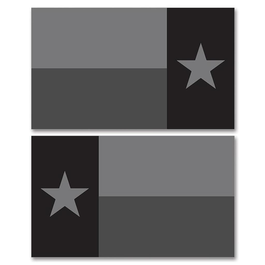 Texas Stealth Black Flag Clean