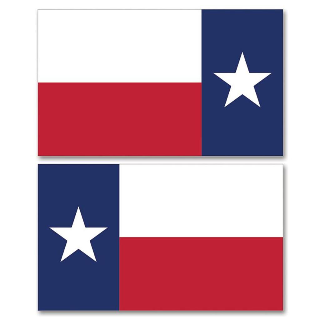 Texas RWB Flag Clean