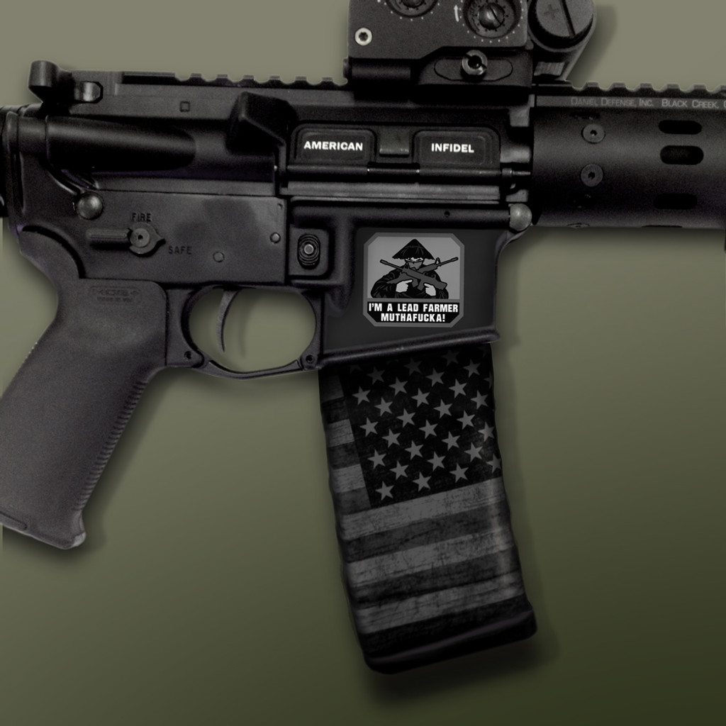 AR-15 Right Side Mag Well Slaps™ Mil-Spec Monkey®