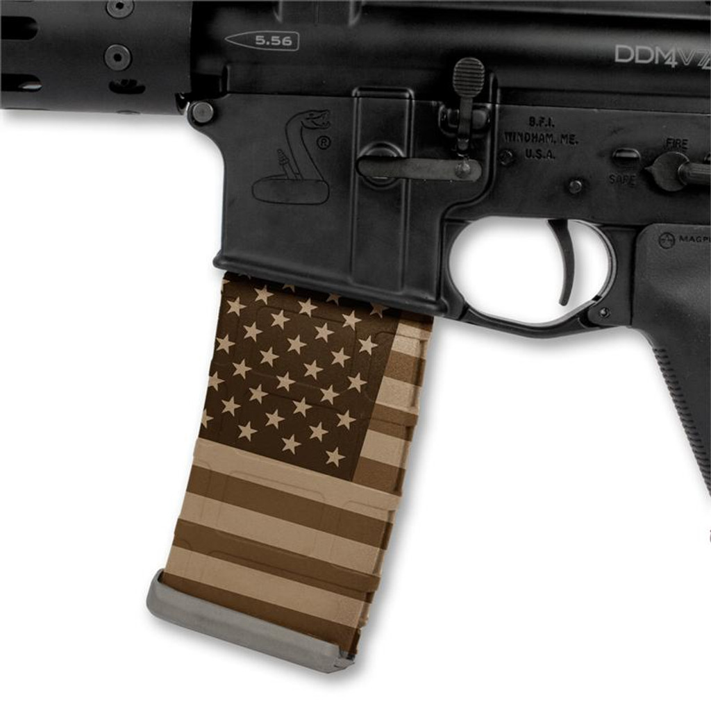 American Flag Tan