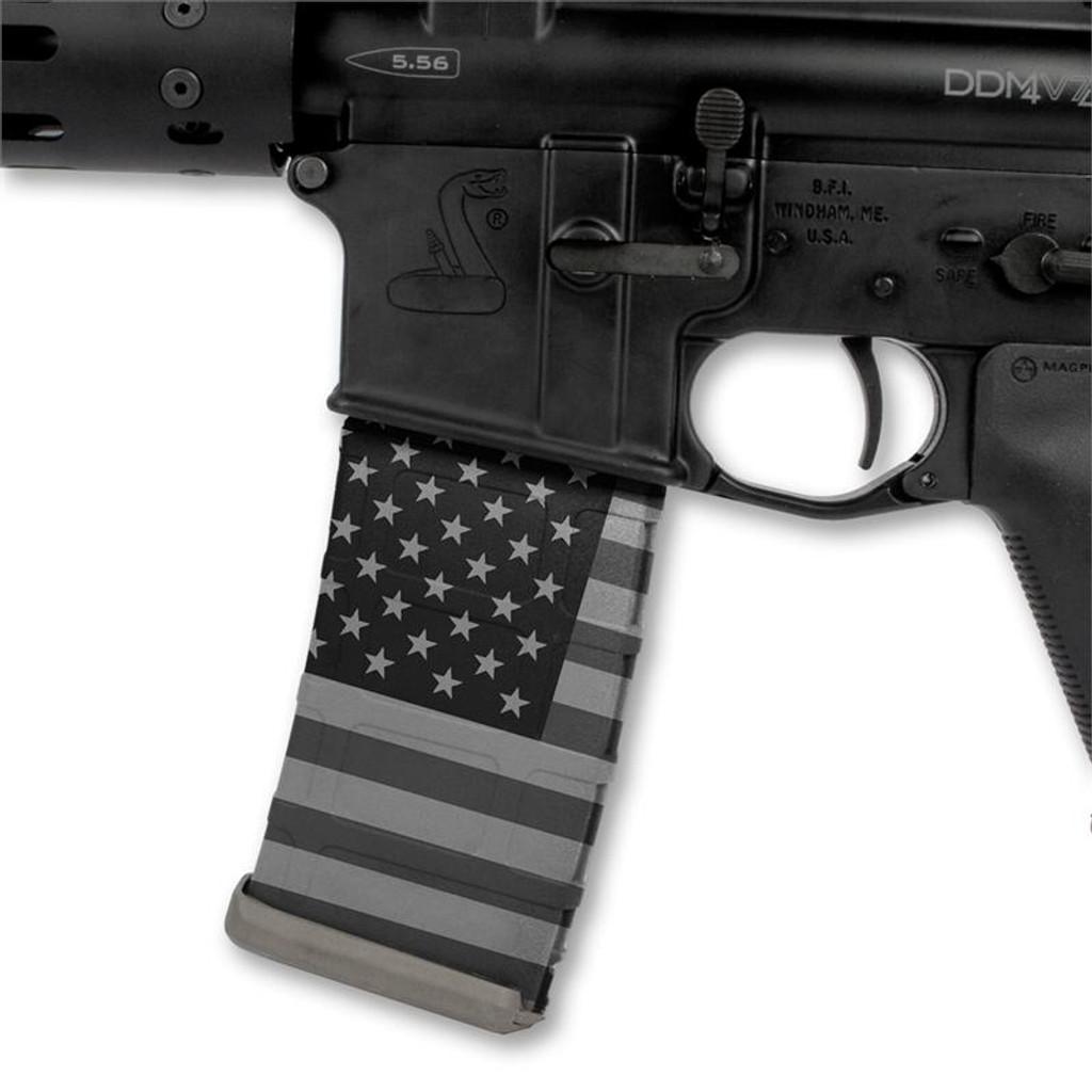 American Flag Grey