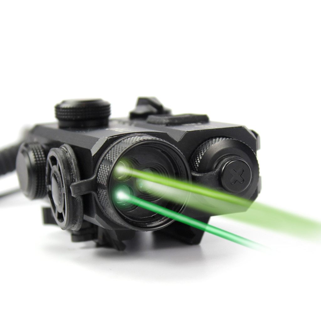 Triad™ C2 Civilian Legal Visible Green Laser/IR Laser/IR Illuminator