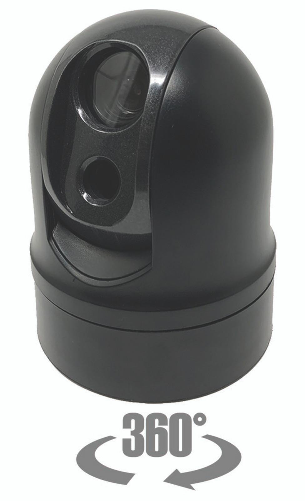 ATAC 362º (Day/Night/Thermal) PTZ Multi-Sensor Mobile Camera System