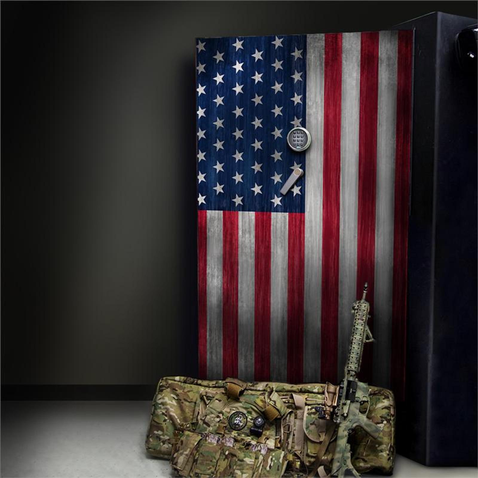 Flag Stars Left
