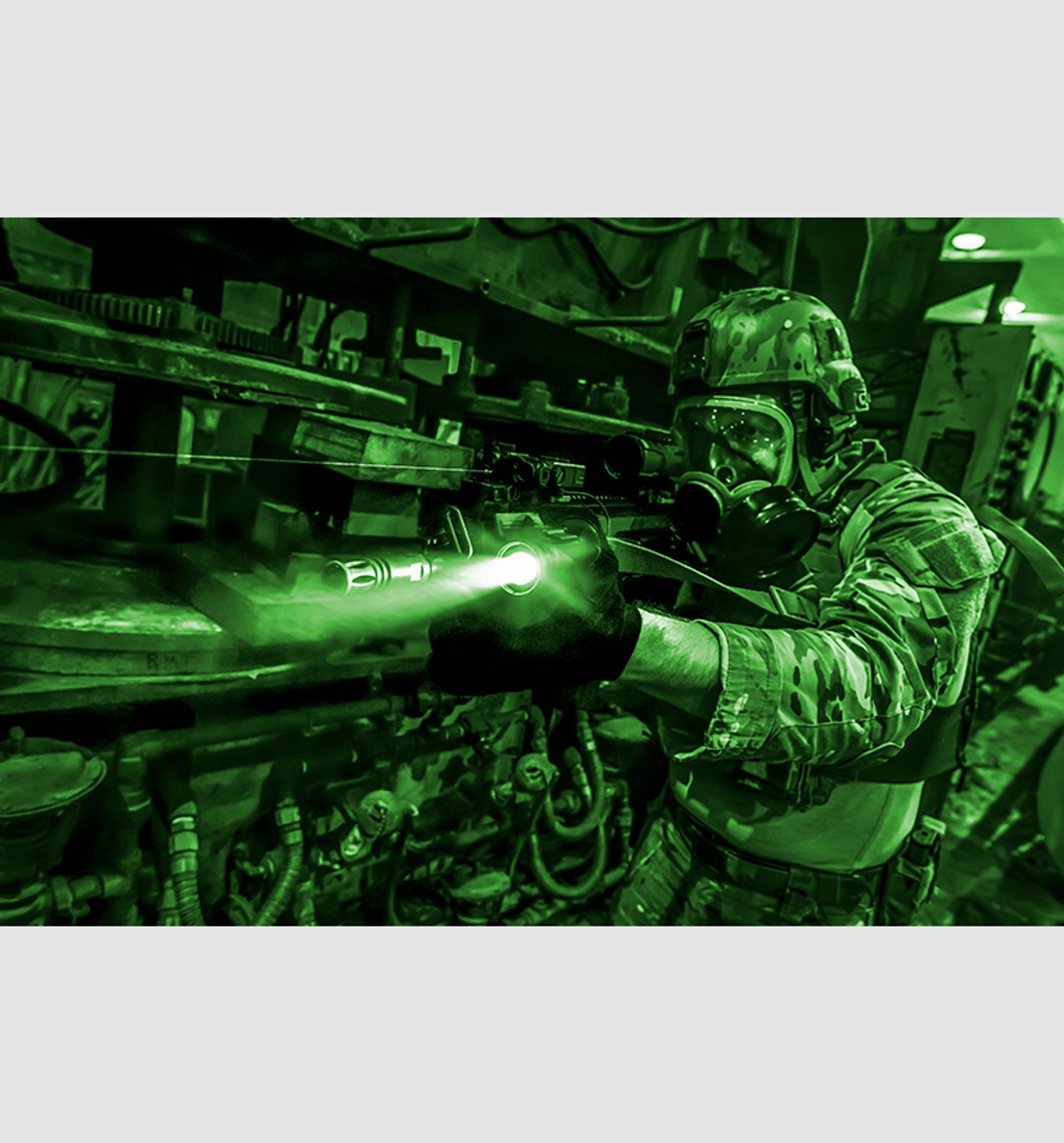 DBAL-A3 Civilian Dual Beam Aiming Laser - Advanced 3 Tan
