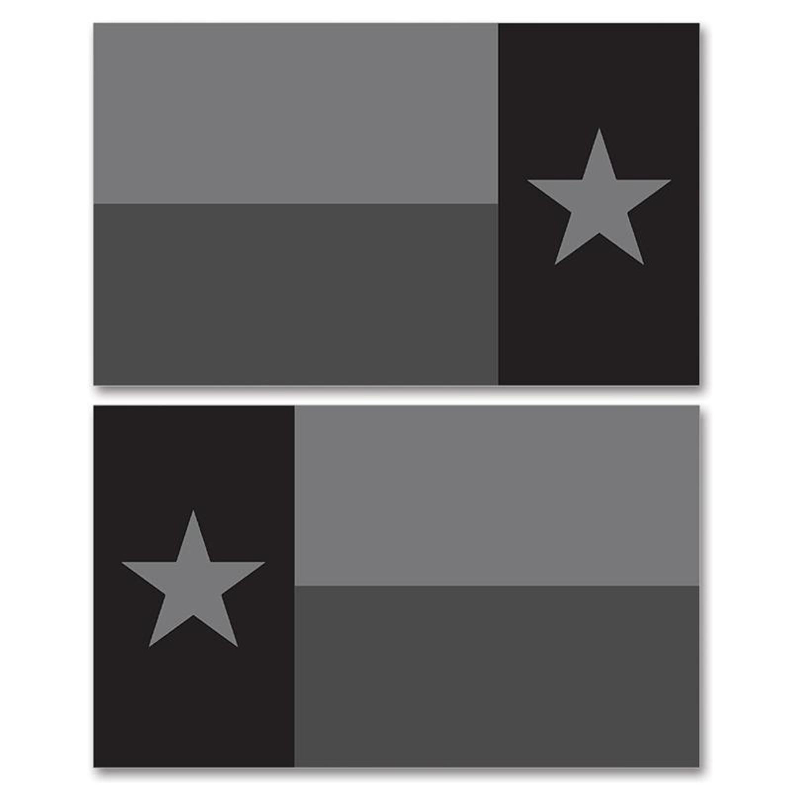 Texas Stealth Black Flag Clean