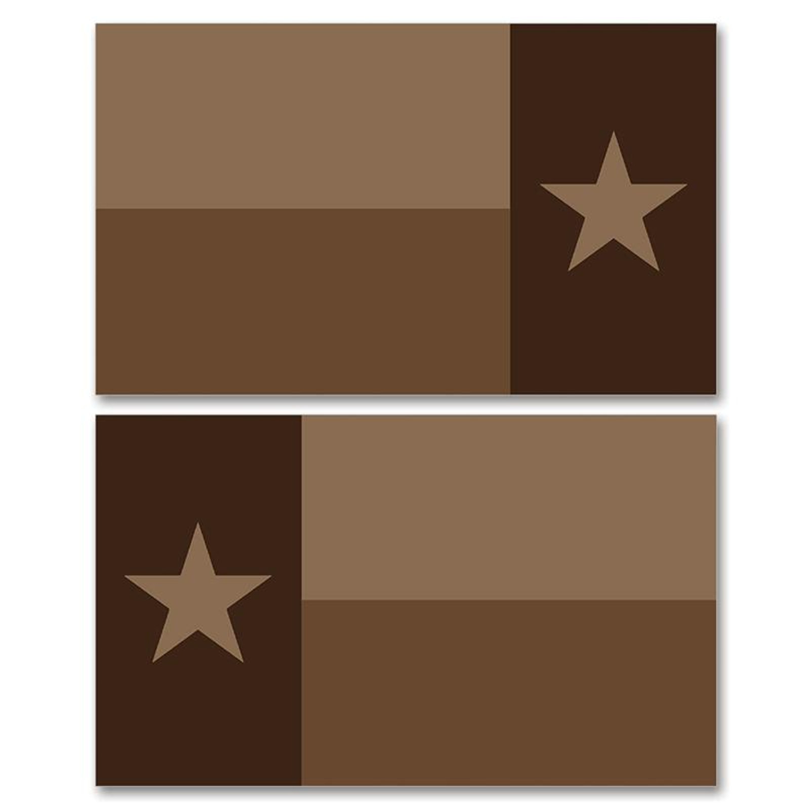 Texas Tan Flag Clean