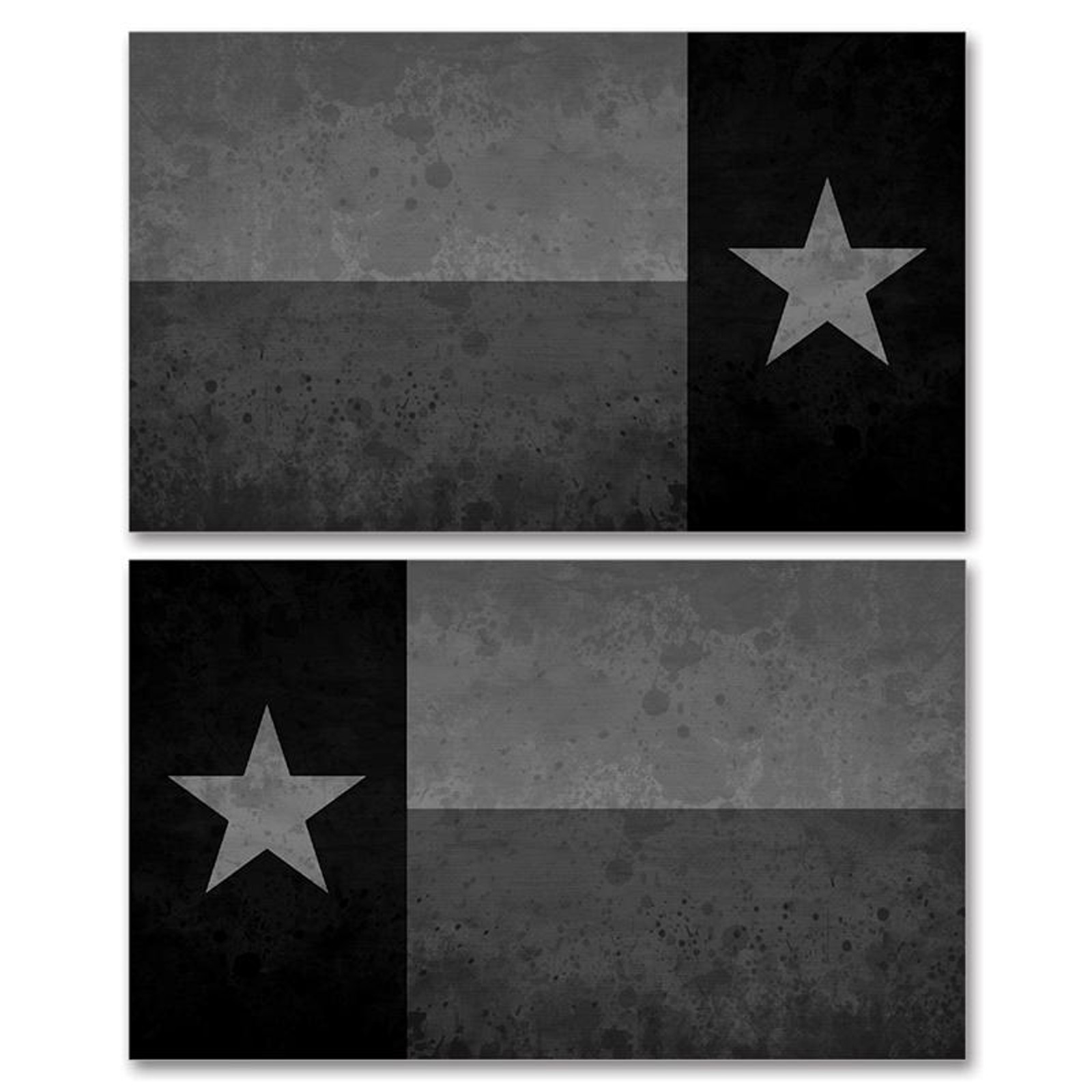 Texas Stealth Black Flag
