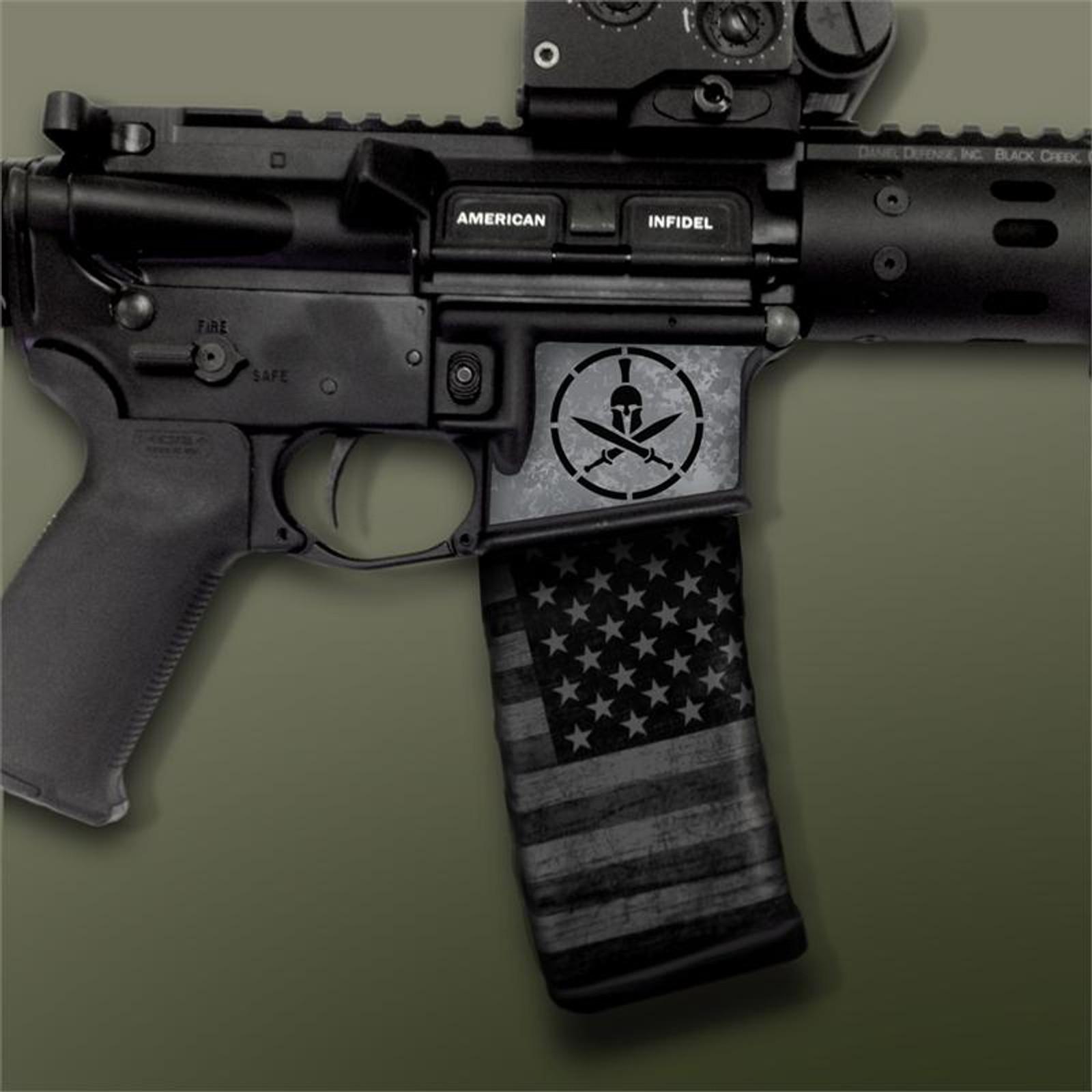 Spartan Gun Metal Black