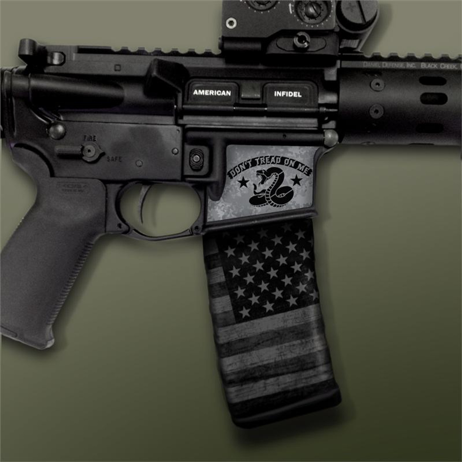 DTOM Gun Metal Black