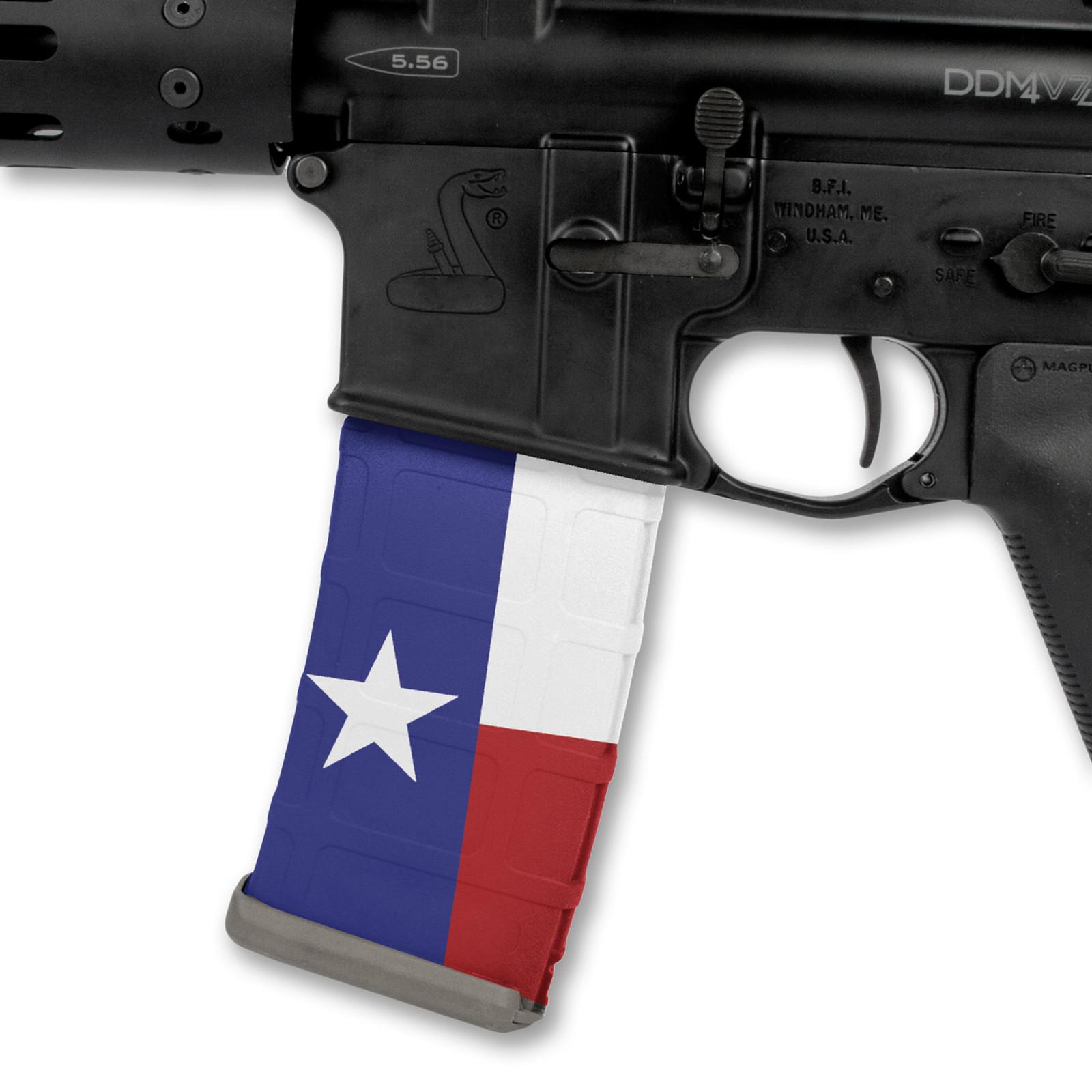 Texas Flag RWB