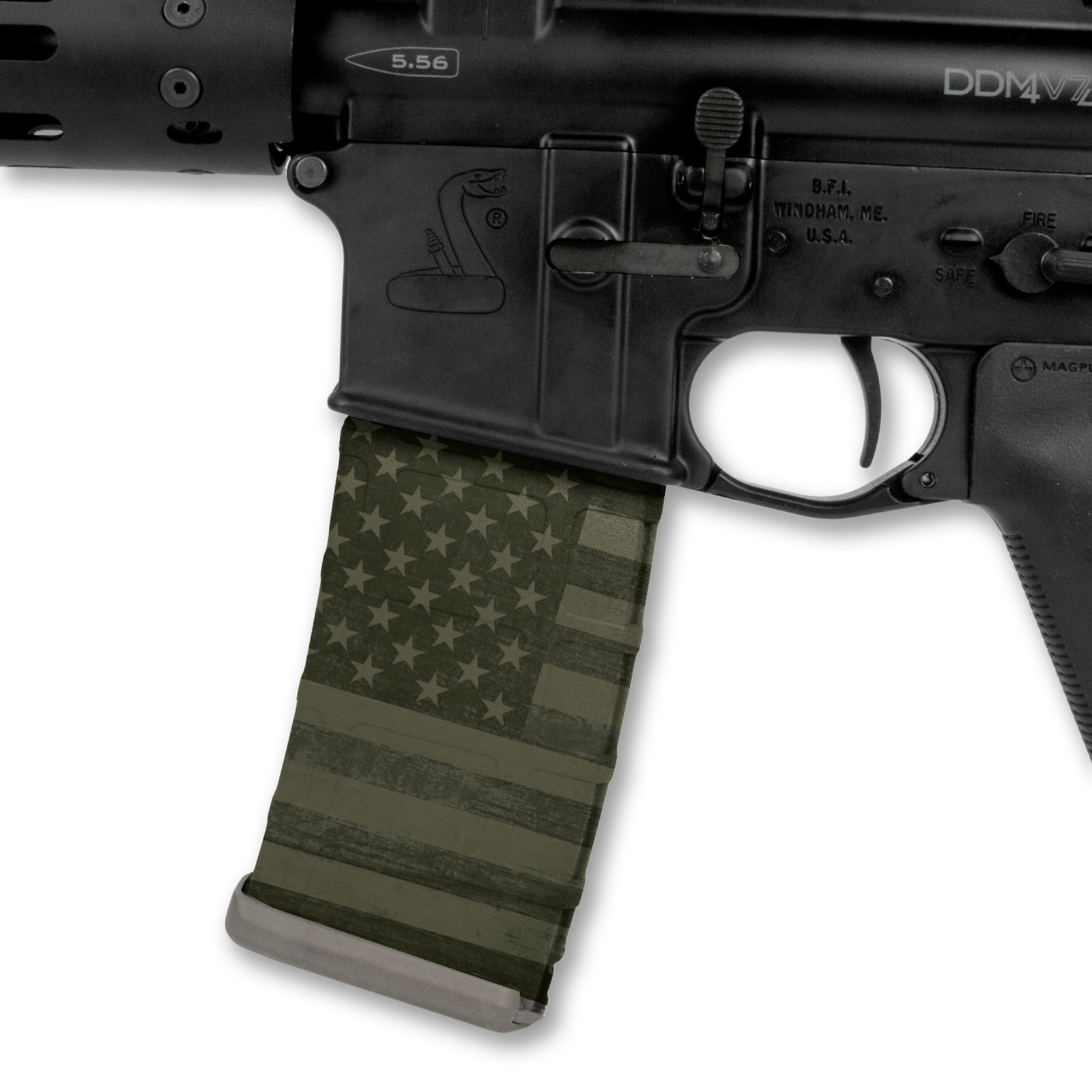 Patriot OD Green Flag