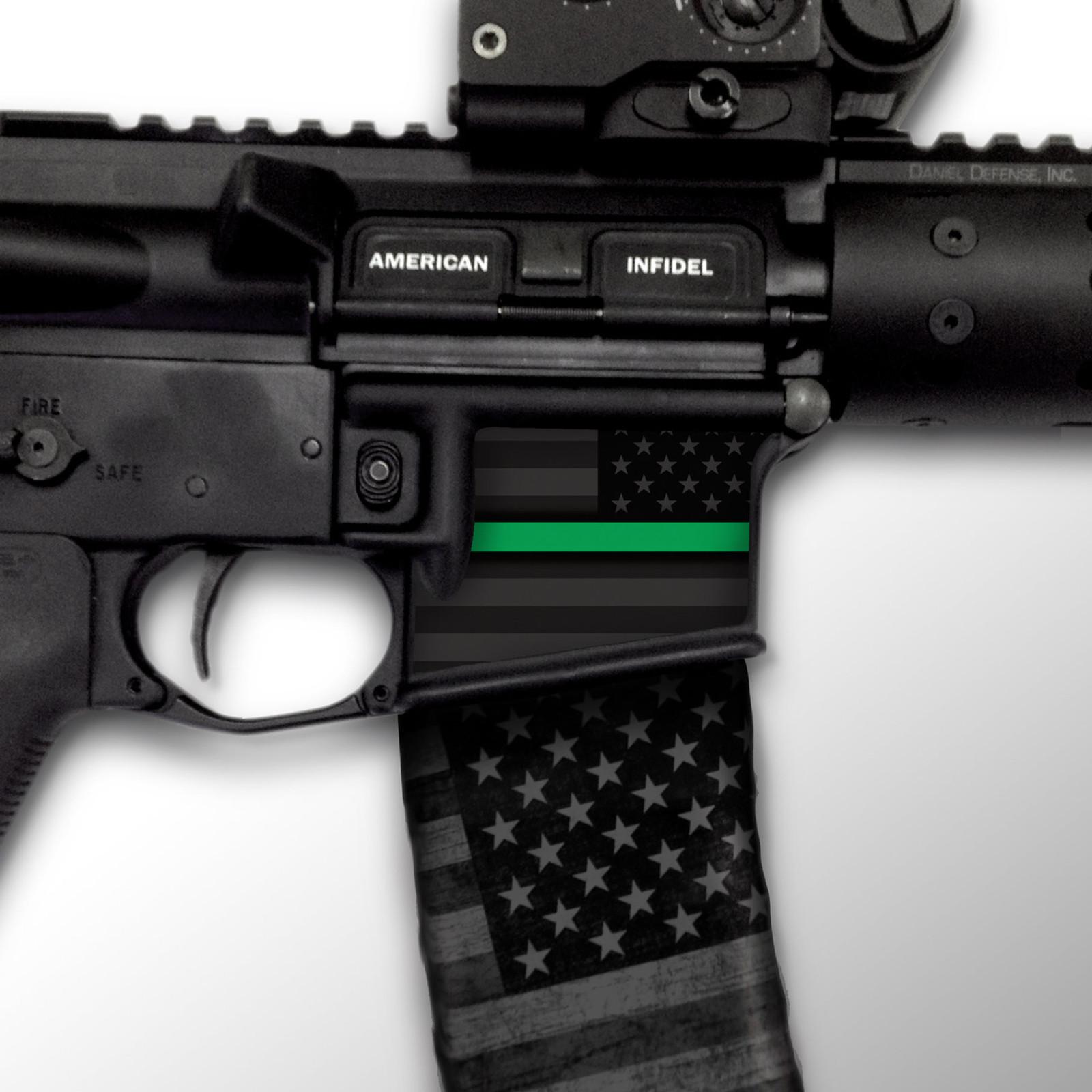 USA Thin Green Line