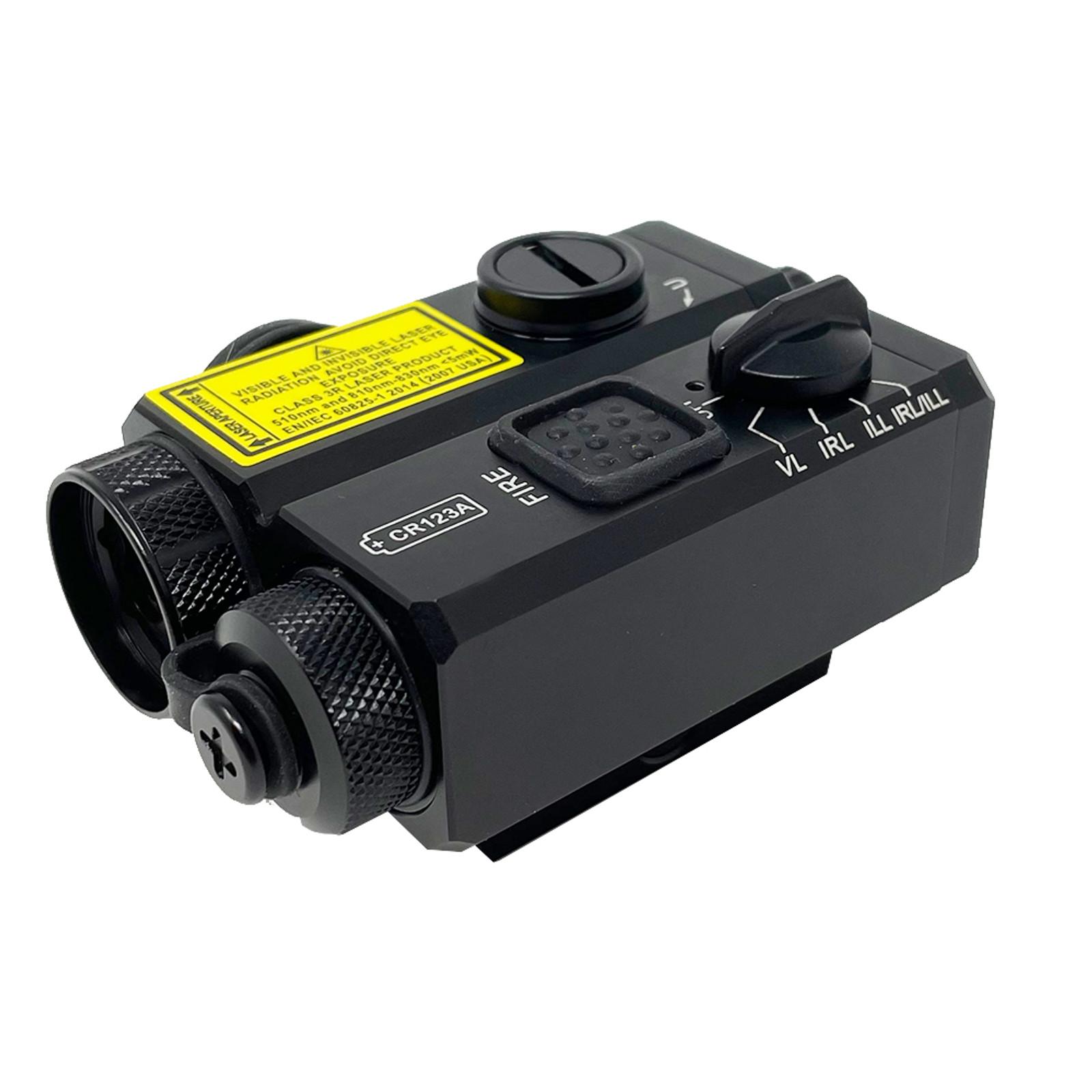 Triad™ C2 Visible Green Laser/IR Laser/IR Illuminator Eye Safe