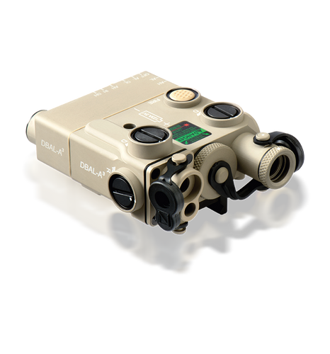 DBAL-A3 Civilian Dual Beam Aiming Laser - Advanced 3 Tan